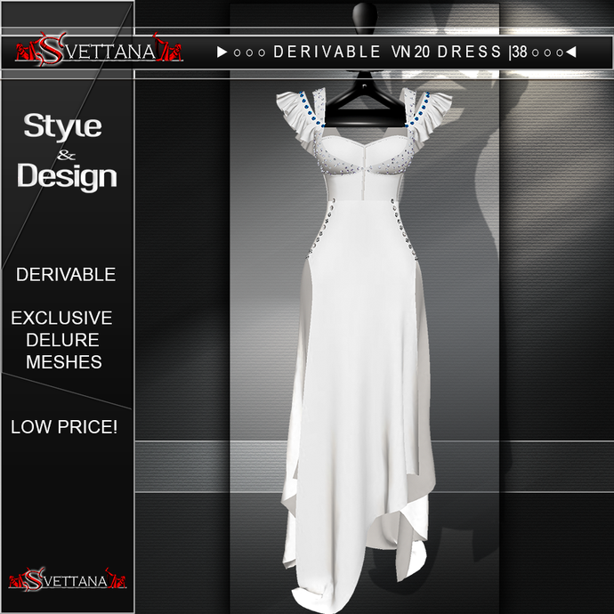 DERIVABLE VN 20 DRESS |38 - SVETTANA SHOP