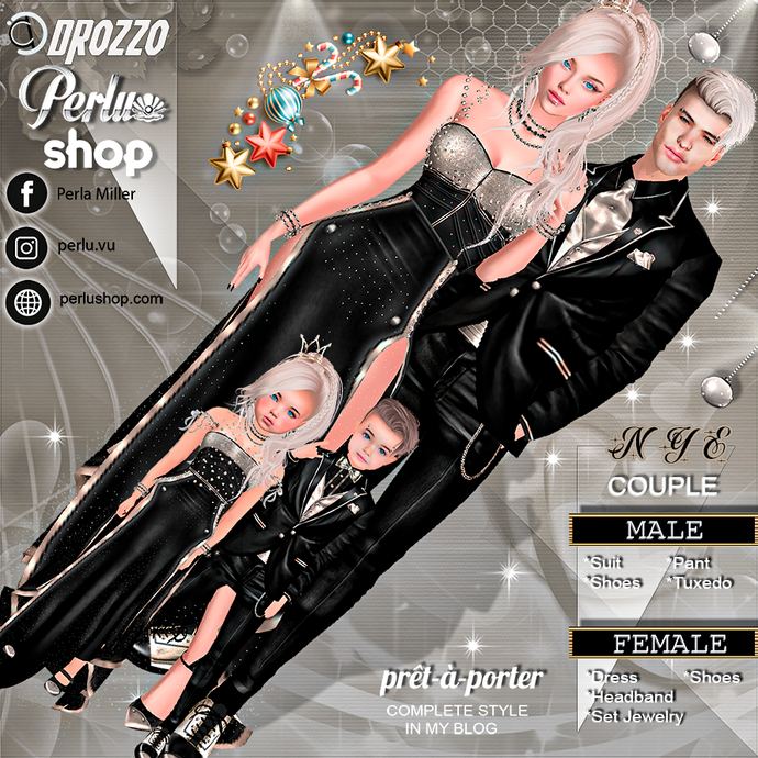 NYE 2.0 COUPLE BUNDLE - PERLU | DROZZO SHOP