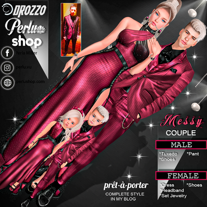 MESSY COUPLE BUNDLE  - PERLU | DROZZO SHOP