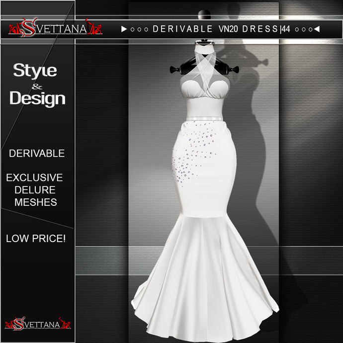 DERIVABLE VN20 DRESS |44 - SVETTANA SHOP