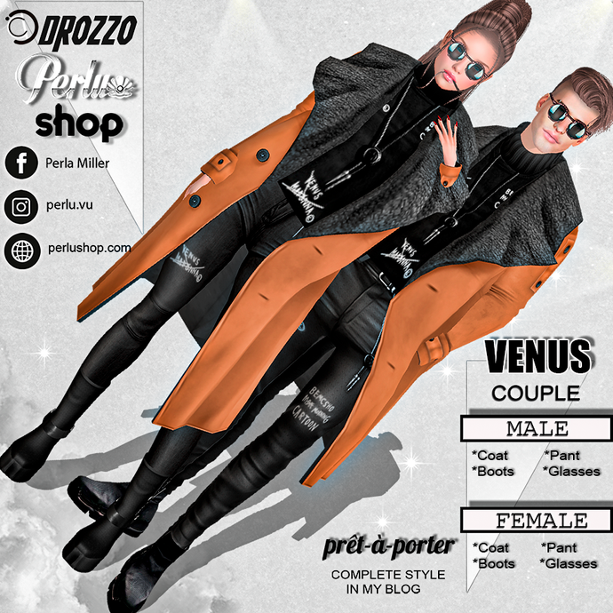 VENUS COUPLE BUNDLE - PERLU | DROZZO SHOP