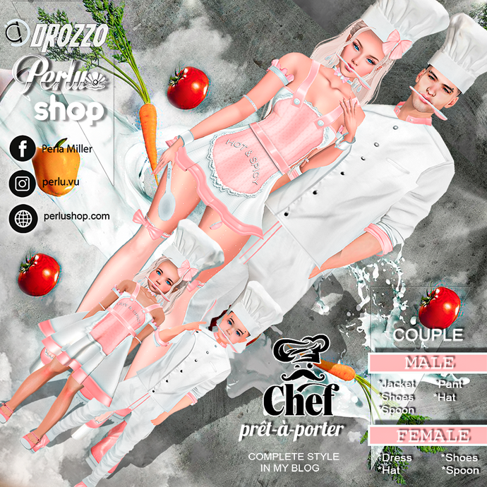 CHEF COUPLE BUNDLE - PERLU | DROZZO SHOP
