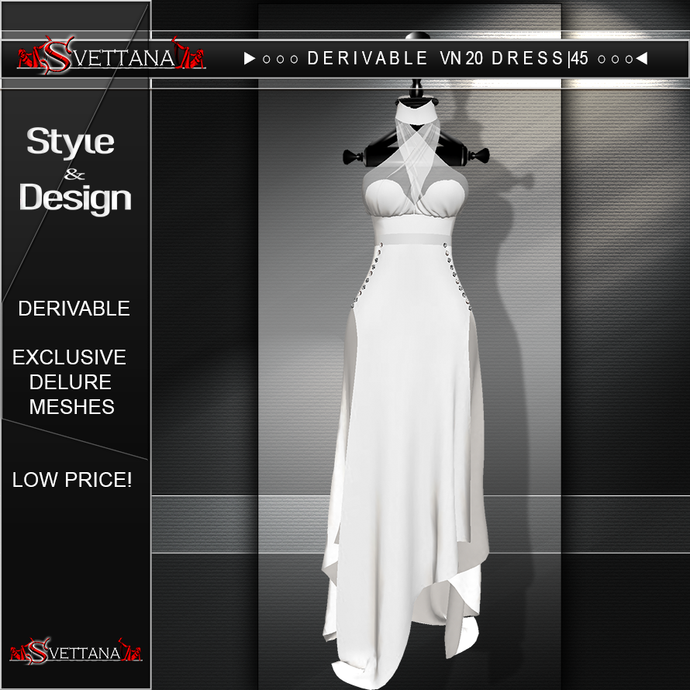 DERIVABLE VN20 DRESS |45 - SVETTANA SHOP