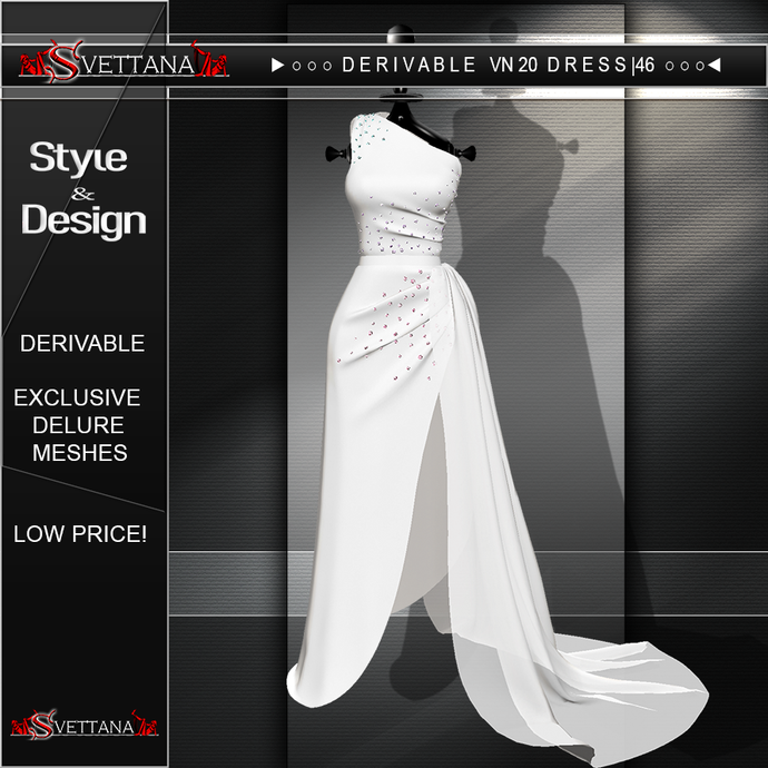 DERIVABLE VN20 DRESS |46 - SVETTANA SHOP