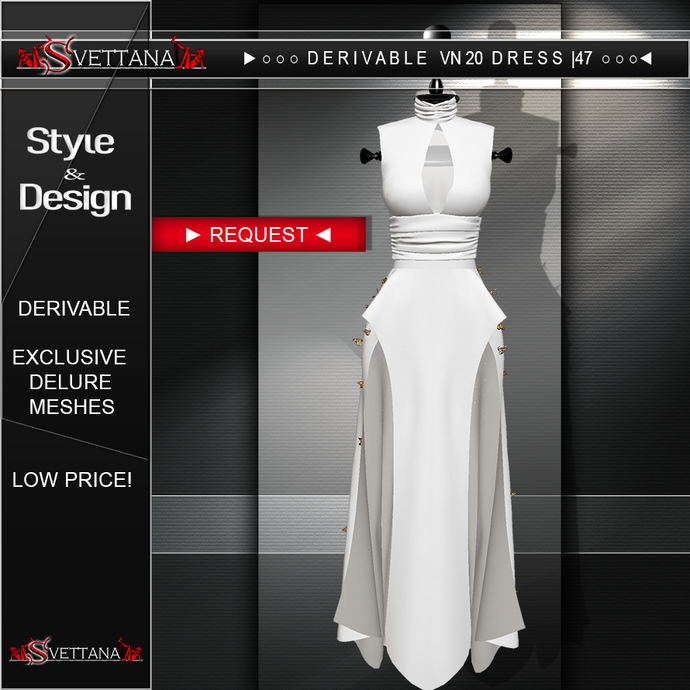 DERIVABLE VN20 DRESS |47 - SVETTANA SHOP