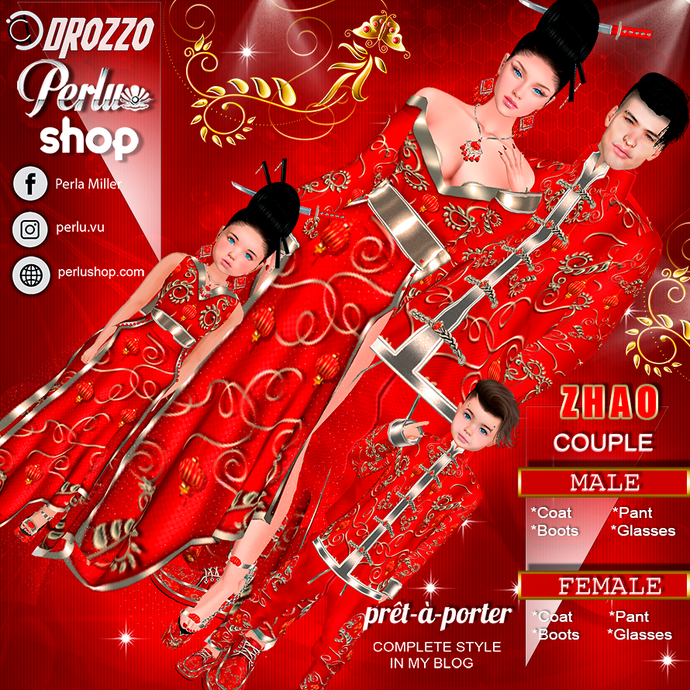 ZHAO COUPLE BUNDLE - PERLU | DROZZO SHOP