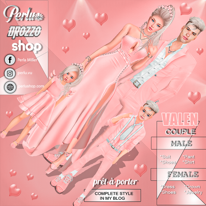 VALEN COUPLE BUNDLE |1 - PERLU | DROZZO SHOP