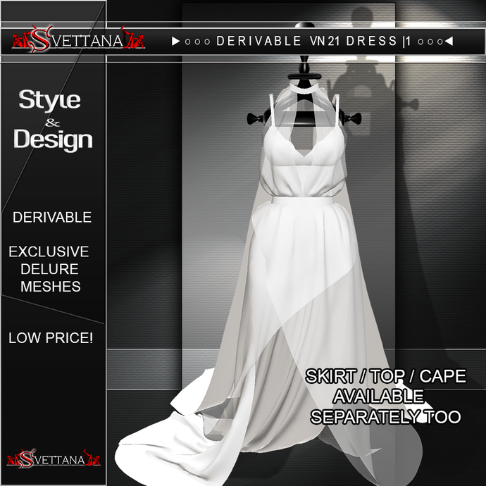 DERIVABLE VN21 DRESS |1 - SVETTANA SHOP
