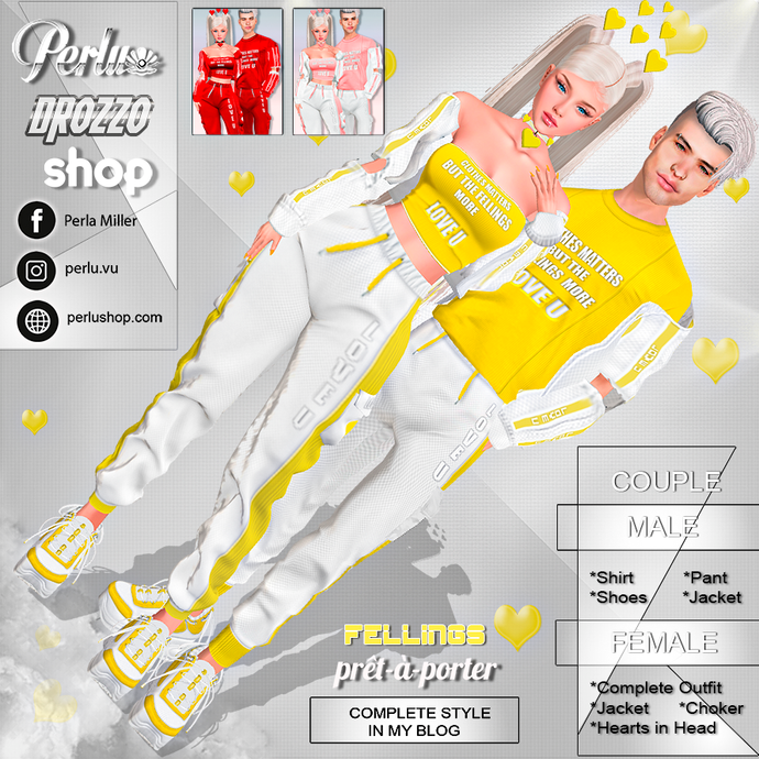 FELLINGS COUPLE BUNDLES - PERLU | DROZZO SHOP