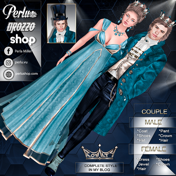 ROYALTY COUPLE BUNDLE - PERLU | DROZZO SHOP
