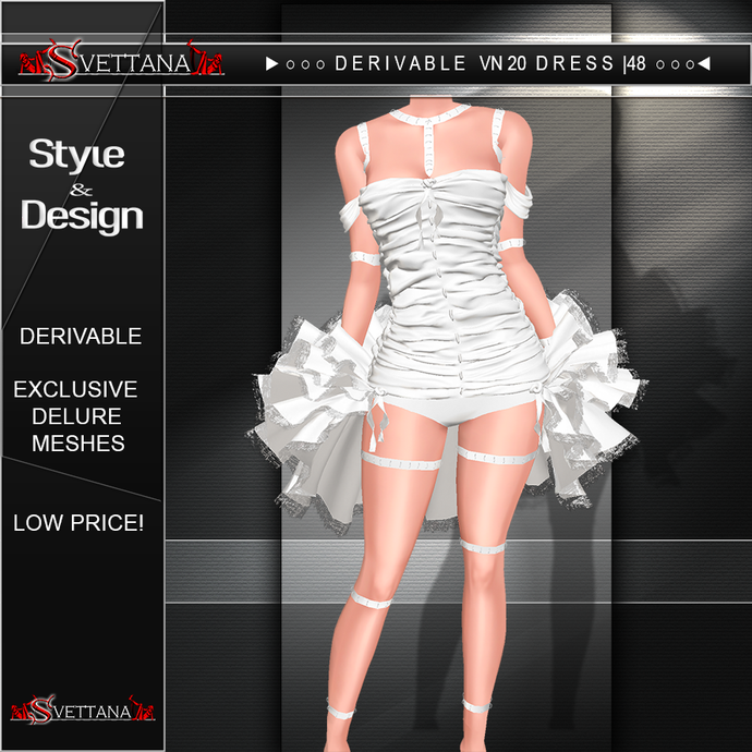 DERIVABLE VN20 DRESS |48 - SVETTANA SHOP