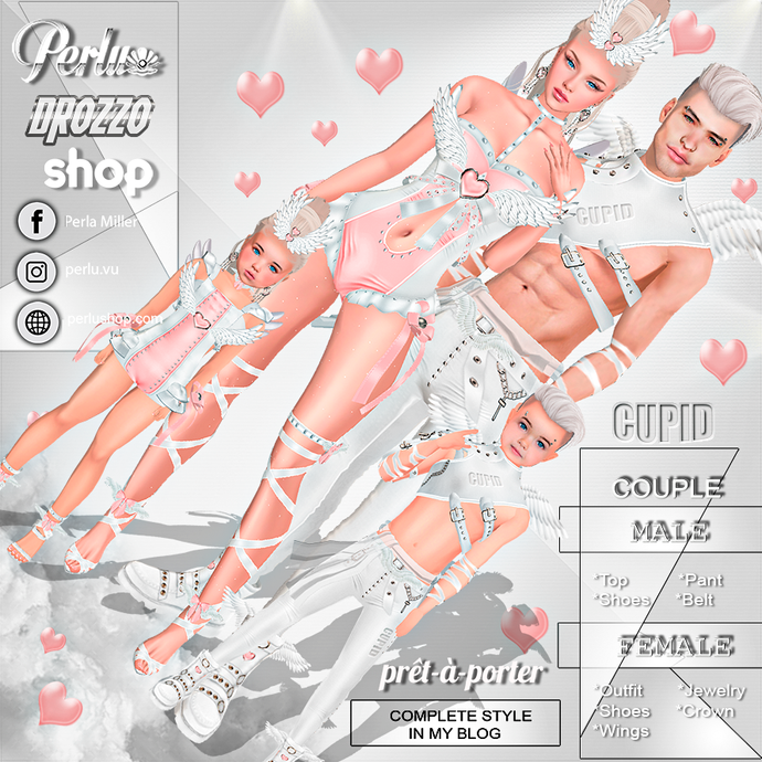 CUPID COUPLE BUNDLE  - PERLU | DROZZO SHOP