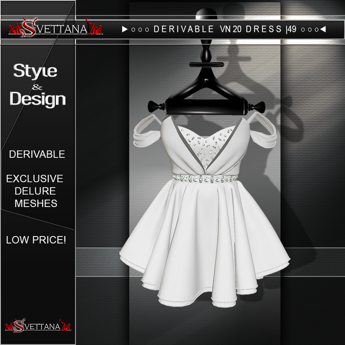 DERIVABLE VN20 DRESS |49 - SVETTANA SHOP