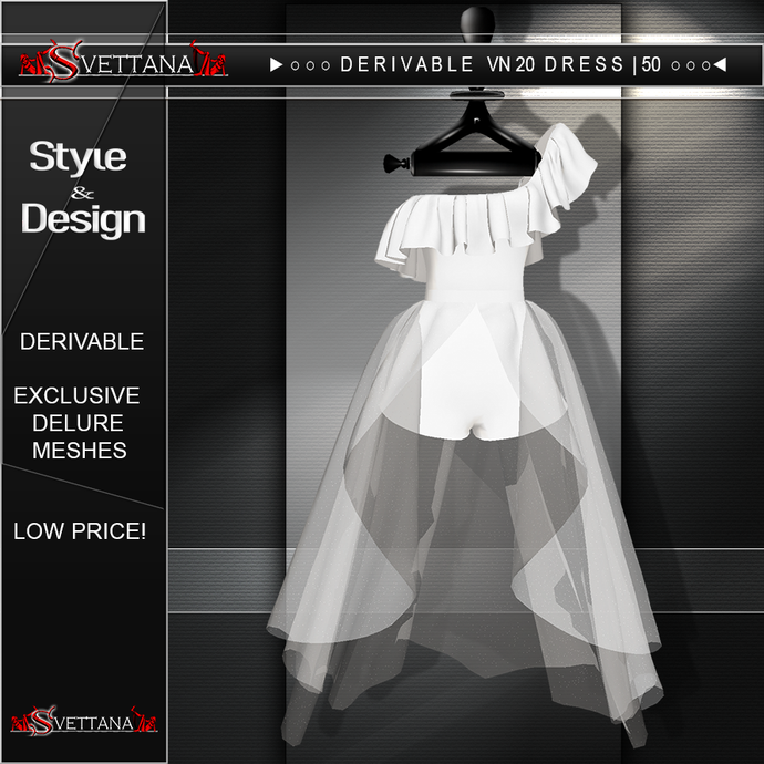 DERIVABLE VN20 DRESS |50 - SVETTANA SHOP