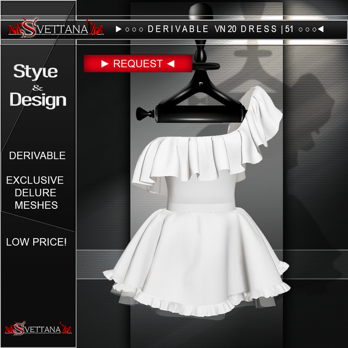 DERIVABLE VN20 DRESS |51 - SVETTANA SHOP