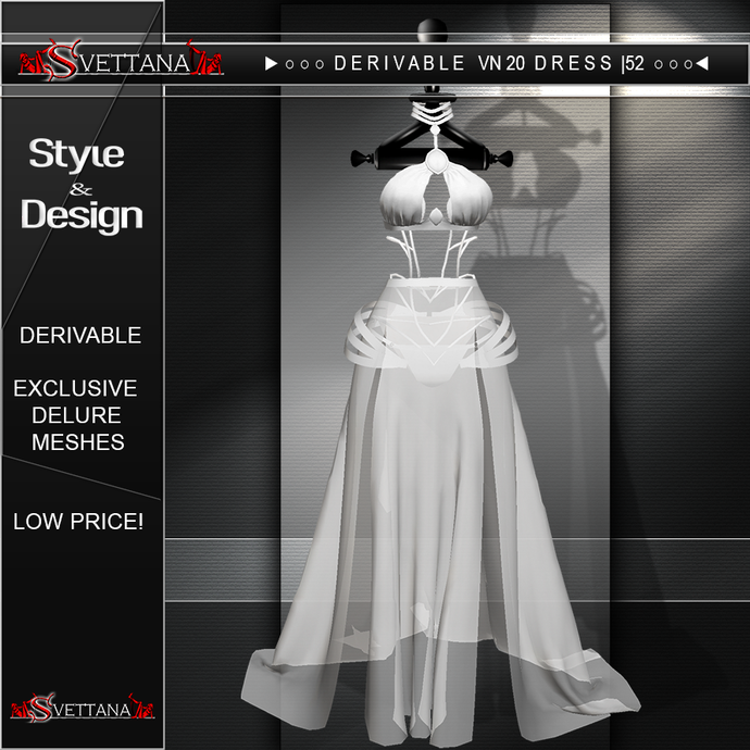 DERIVABLE VN20 DRESS |52 - SVETTANA SHOP