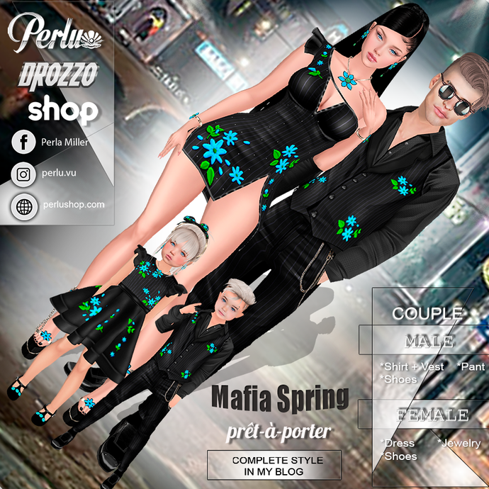 MAFIA SPRING COUPLE BUNDLE - PERLU | DROZZO SHOP