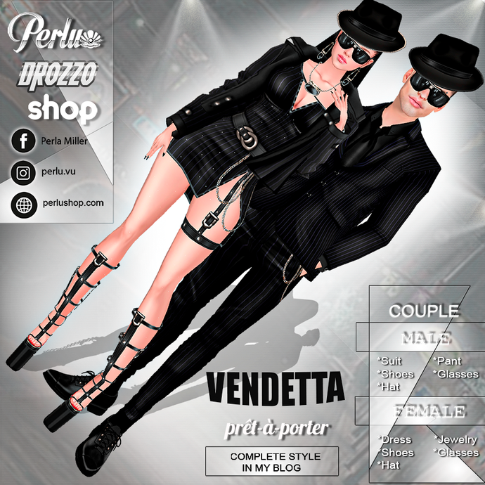 VENDETTA COUPLE BUNDLE - PERLU | DROZZO SHOP