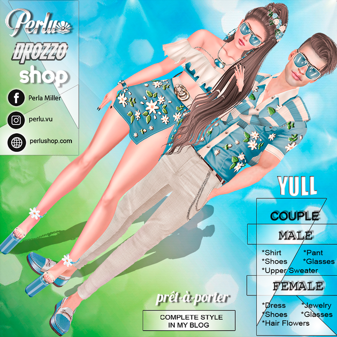YULL SPRING COUPLE BUNDLE - PERLU | DROZZO SHOP