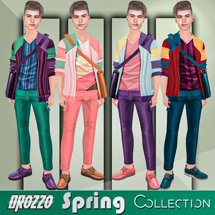 SPRING 2021 COLLECTION - DROZZO SHOP