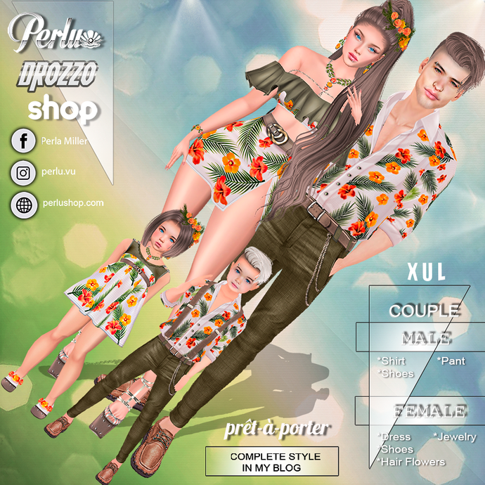 XUL COUPLE BUNDLE - PERLU | DROZZO SHOP