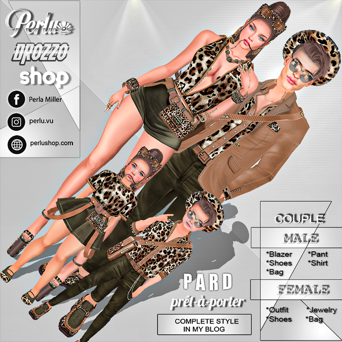 PARD COUPLE BUNDLE - PERLU | DROZZO SHOP