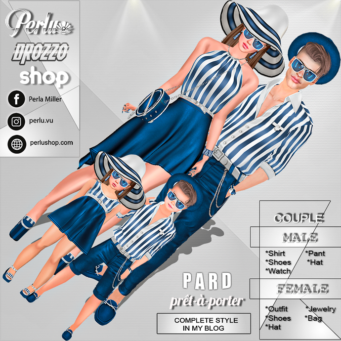 ZALE COUPLE BUNDLE - PERLU | DROZZO SHOP