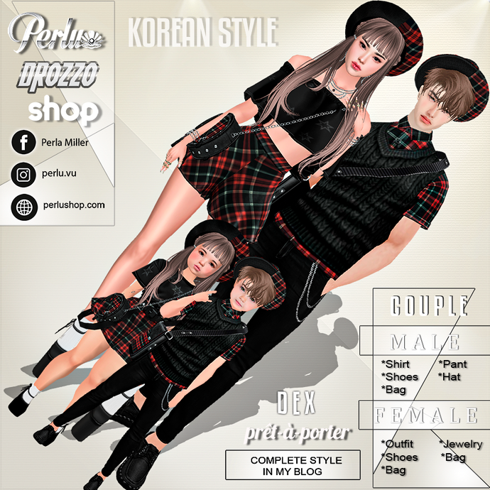 DEX COUPLE BUNDLE - PERLU | DROZZO SHOP