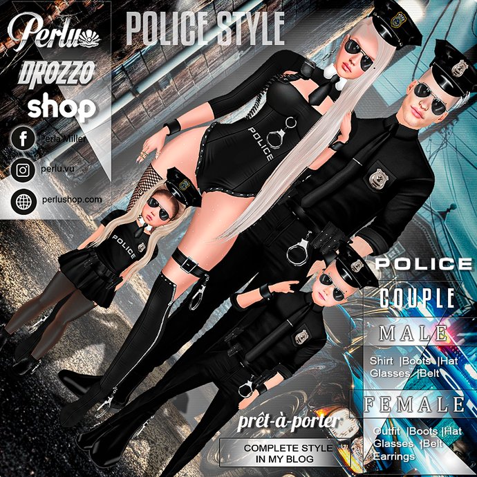 POLICE COUPLE BUNDLE - PERLU | DROZZO SHOP