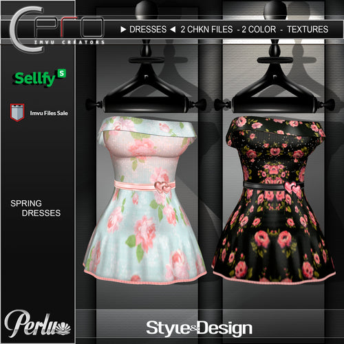 ►SPRING ROMANTIC DRESSES◄