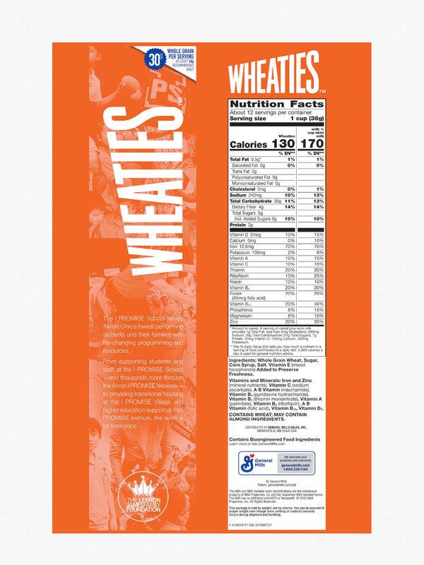 Load image into Gallery viewer, LeBron James x I PROMISE Wheaties Box