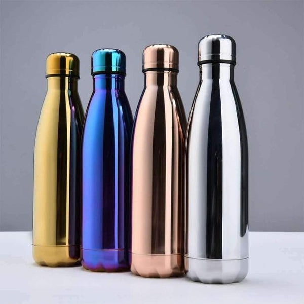 Bouteille Chrome - Green Bottle