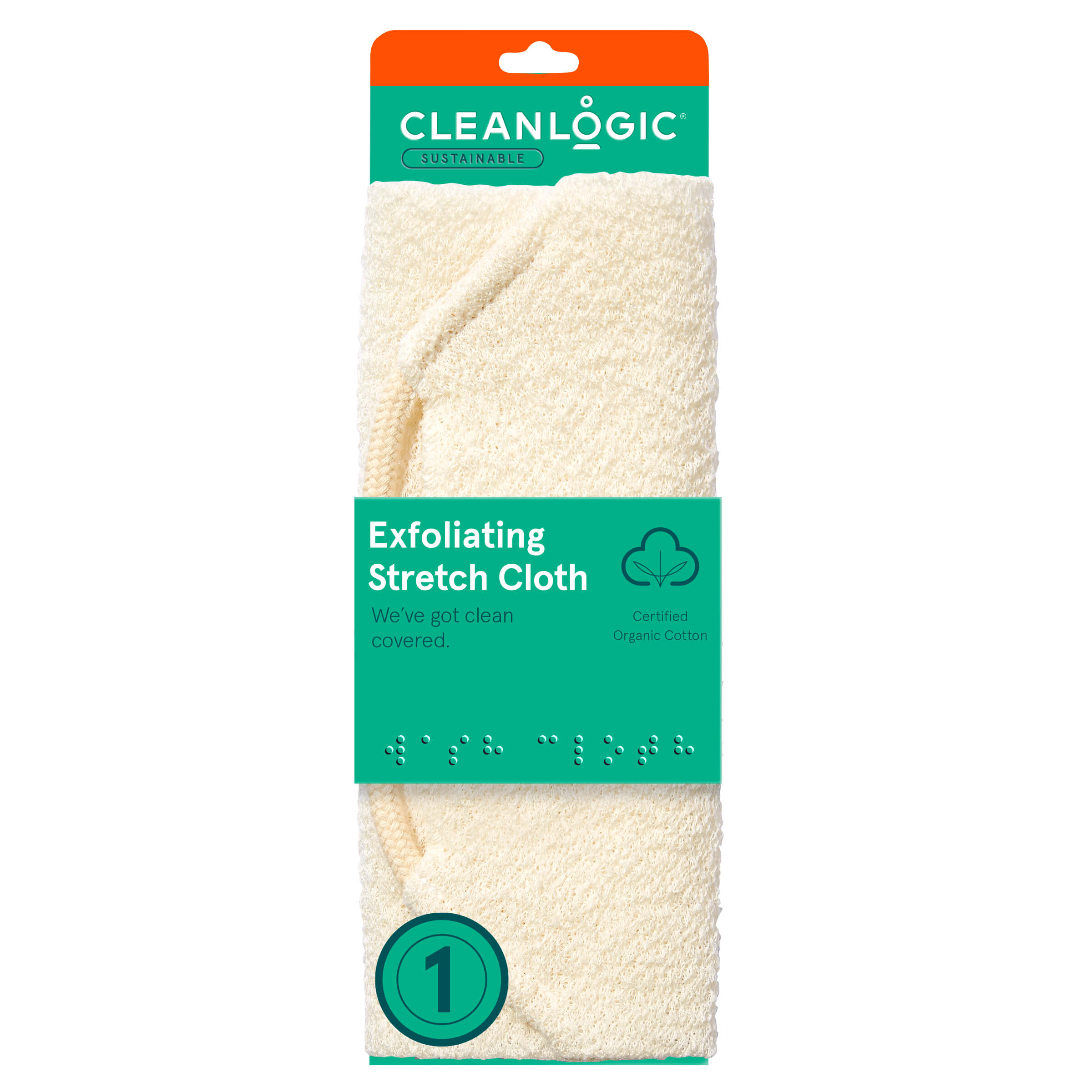 Cleanlogic Sustainable Exfoliating Stretch Cloth
