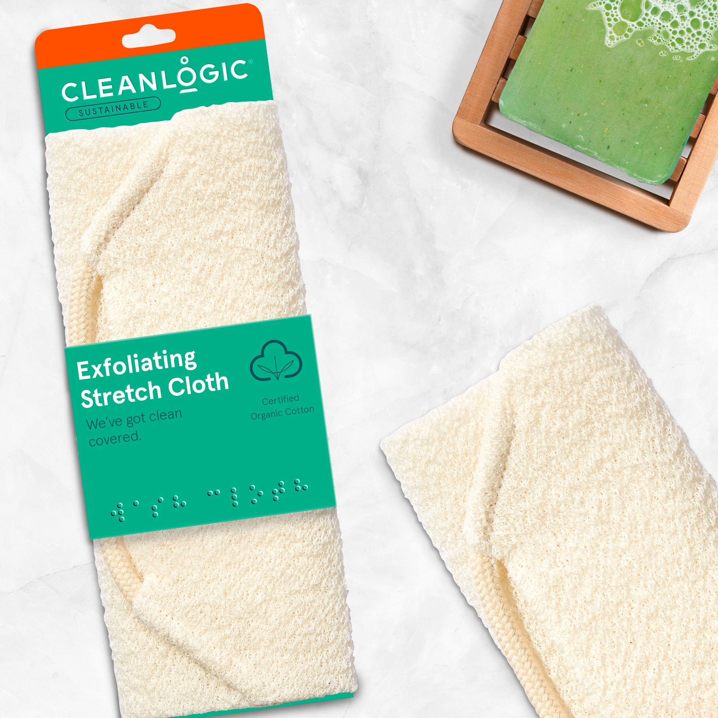 Cleanlogic Sustainable Organic Home Spa Collection