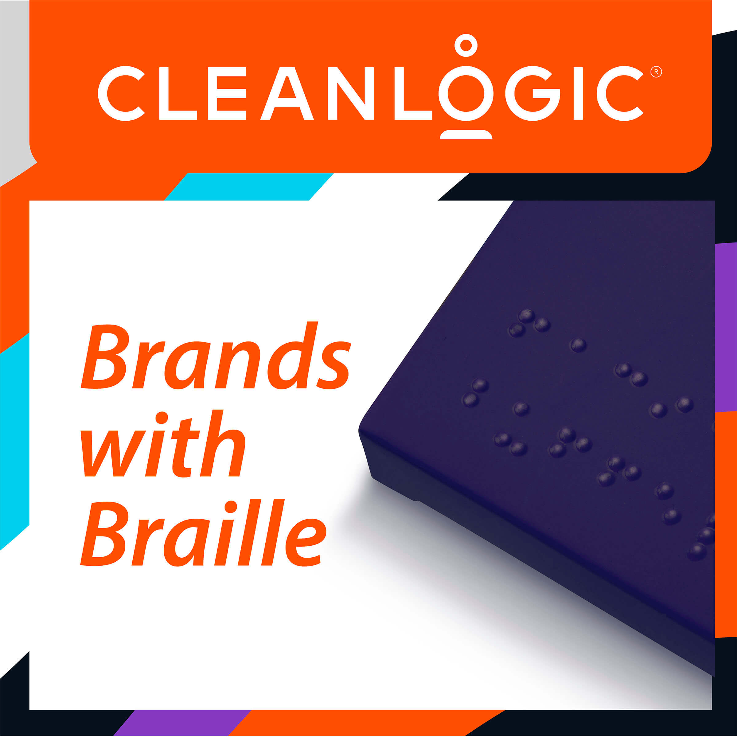 Brands with Braille