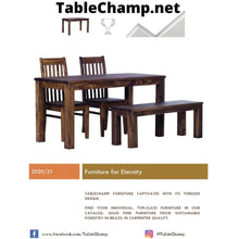 Load image into Gallery viewer, FREE TableChamp Catalogue With Wooden Samples All Colors And Sizes Presentation - TableChamp