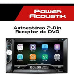 Autoestéreo con Dvd Power Acoustik Pd-620b Bluetooth