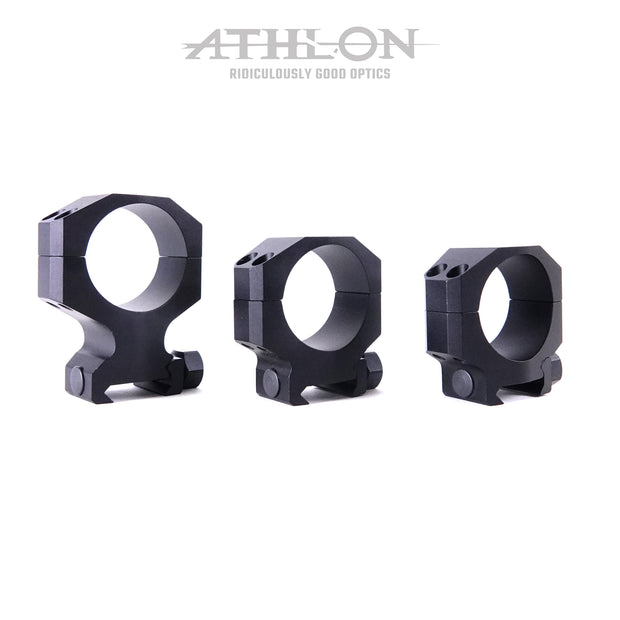 Athlon Precision Rings - 30mm MSR High Height (1.443 in)