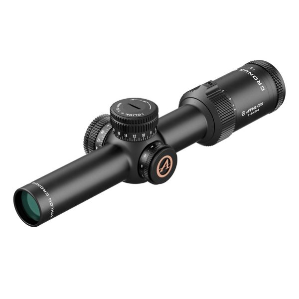Athlon Optics Cronus BTR HD 1-6x24 SFP ATSR2 IR MOA Rifle Scope