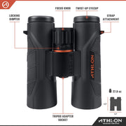 Athlon Optics Cronus G2 10x42 UHD Binocular