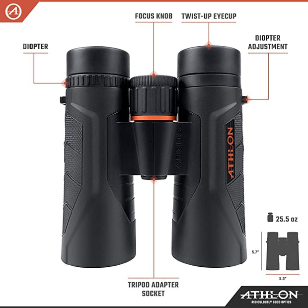 Athlon Optics Argos G2 10x42 UHD Binocular