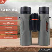 Athlon Optics Neos G2 8x42 HD Binocular