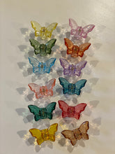 Load image into Gallery viewer, Mini Crystal Butterfly Clip