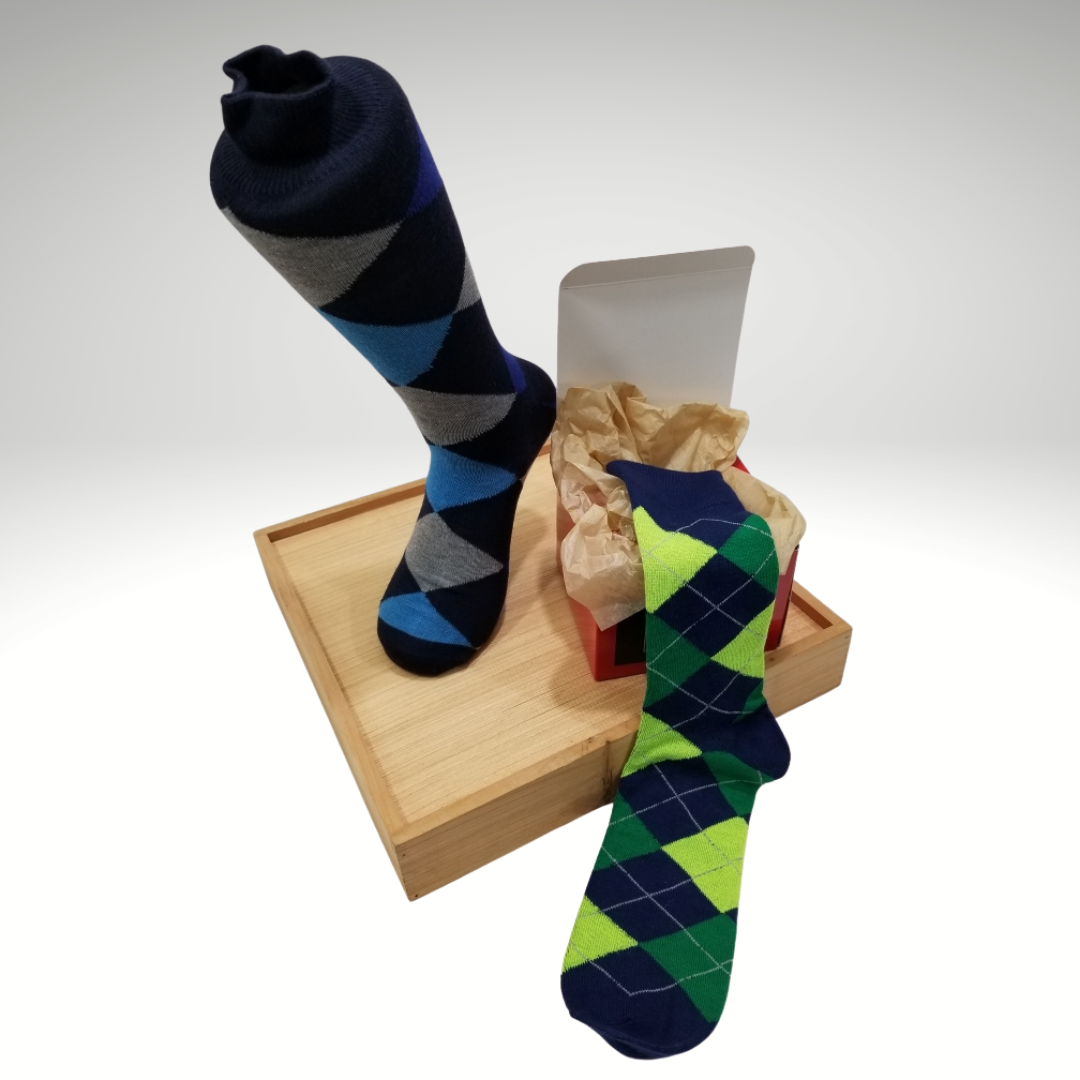 Blues | Sock Box 2-pack