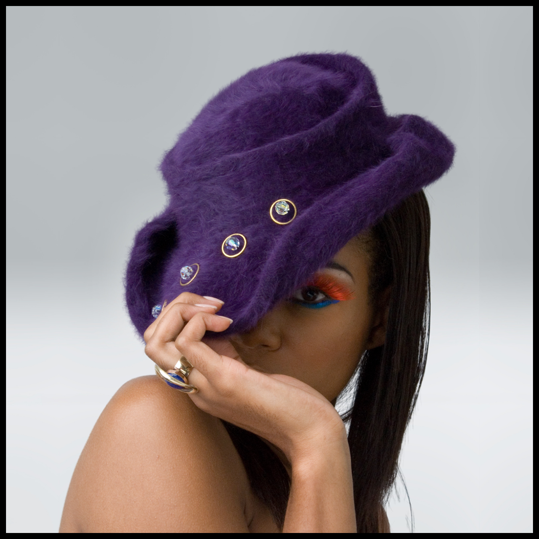 Purple Haze | Beaver Velour Felt
