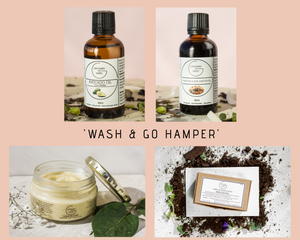 Wash and Go Hamper