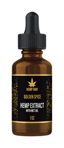 Golden Spice Isolate Hemp Oil  500MG (NO THC)