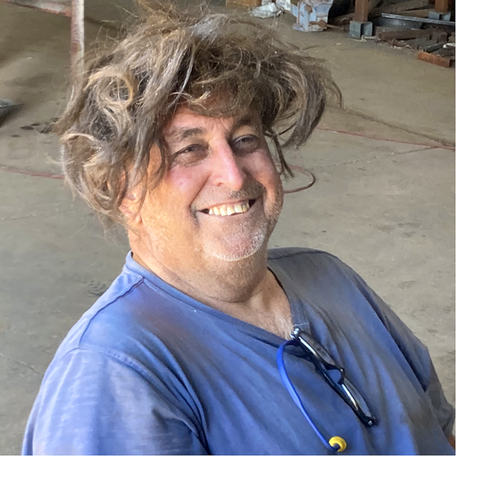 Narny – Volunteer from Broome – Sandblasting Guru
