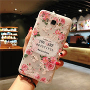Flower Phone Case For Samsung-The Mobi World