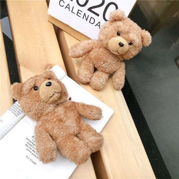 Soft Teddy Bear Silicone Case-The Mobi World